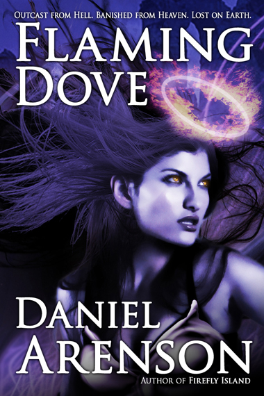 Book cover for Flaming Dove